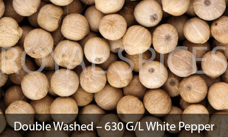 Double Washed – 630 G/L White Pepper